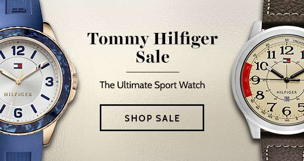 TOMMY HILFIGER SALE — The Ultimate Sport Watch