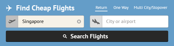 Search For The Best Flight Deals!