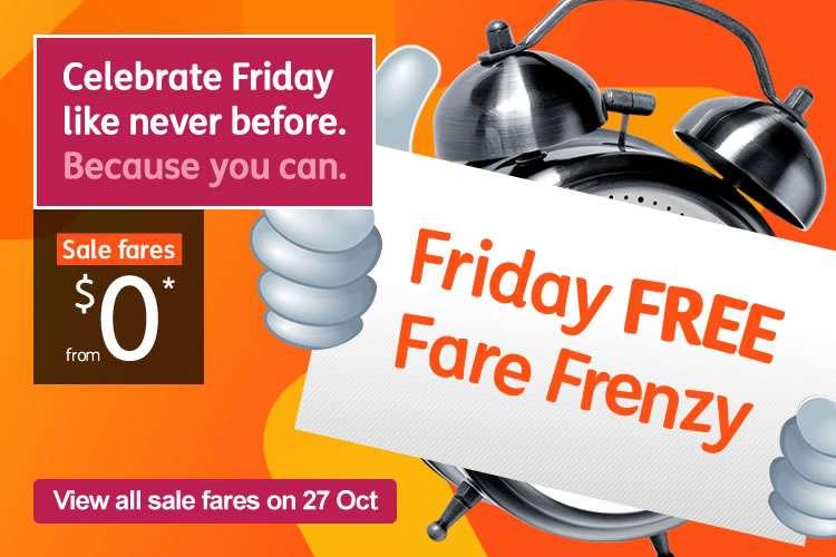 Friday Free Fare Frenzy