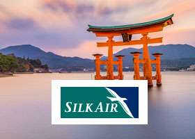 Fly direct to Hiroshima fr $498 (return).