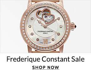 FREDERIQUE CONSTANT SALE — Shop Now