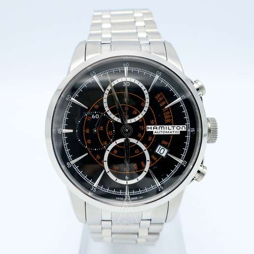 Men's  Hamilton American Classic Railroad Auto Chrono Watch