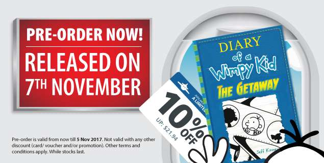 Pre-Order for Diary of a Wimpy Kid: The Getaway