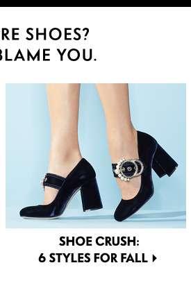 Fall Shoe Crush