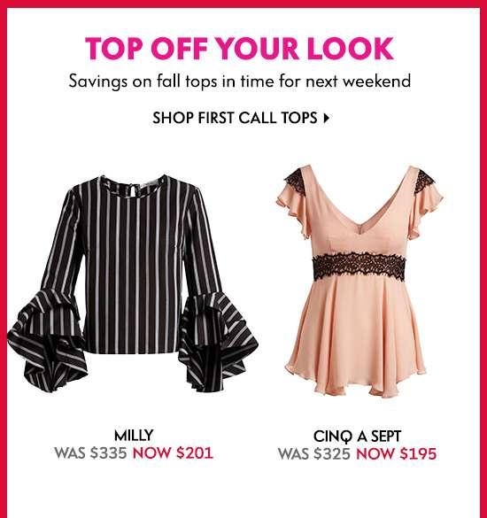 Shop First Call Tops