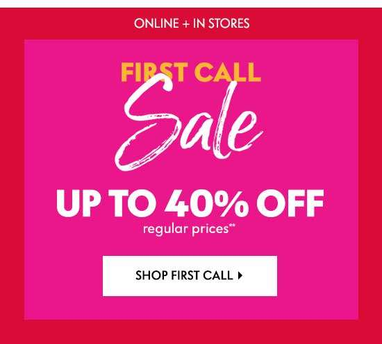 Shop First Call