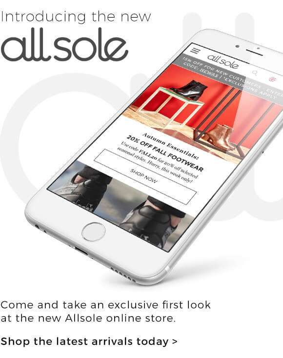 Introducing the new Allsole