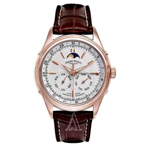 Men's  Armand Nicolet M02 Complete Calendar Watch