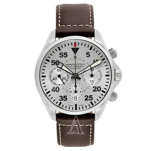 Men's  Hamilton Khaki Aviation Pilot Auto Chrono Watch