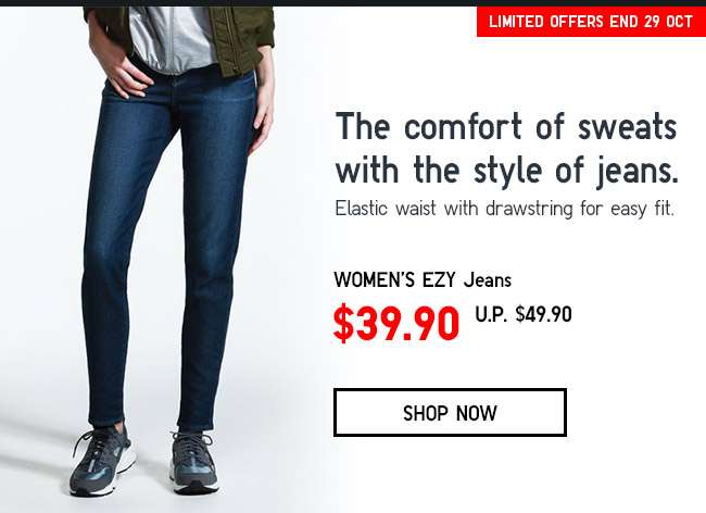 Shop Women's EZY Jeans