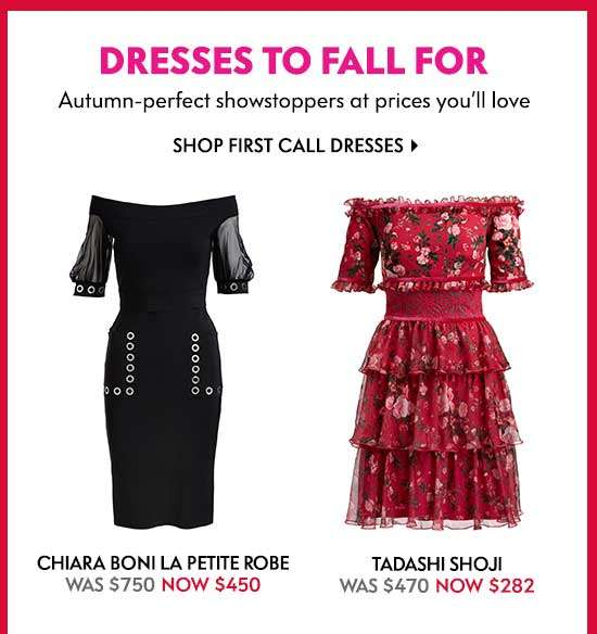 Shop First Call Dresses