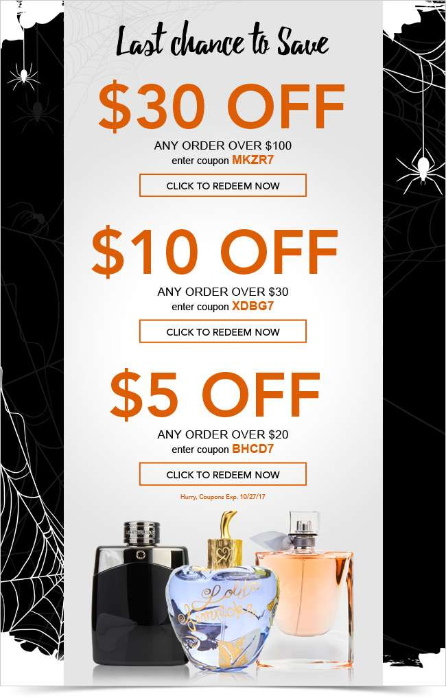 $30 OFF* Ends Tonight!