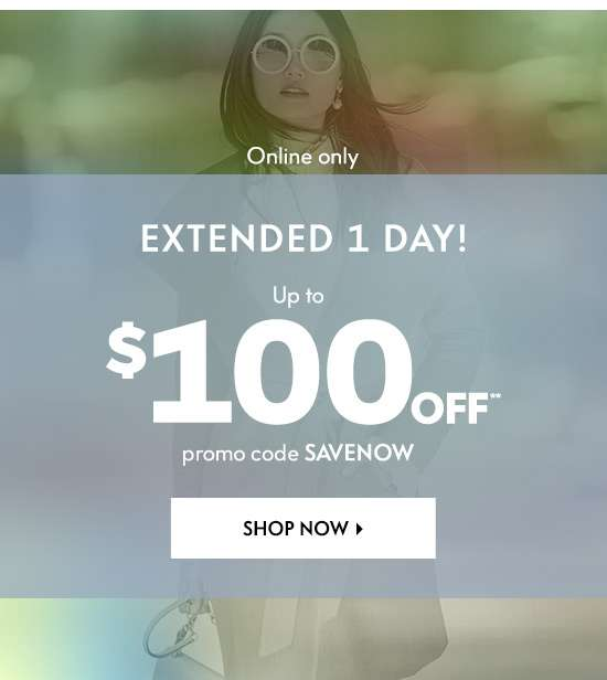 Up to $100 off