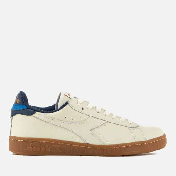 Game L Low Leather Cupsole Trainers