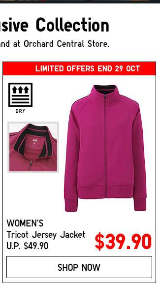 Shop Women's Tricot Jersey Jacket