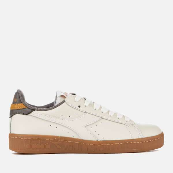 Game L Low Leather Gum Sole Trainers