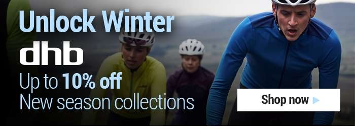 dhb Unlock Winter Up to 10% off New Season Collections