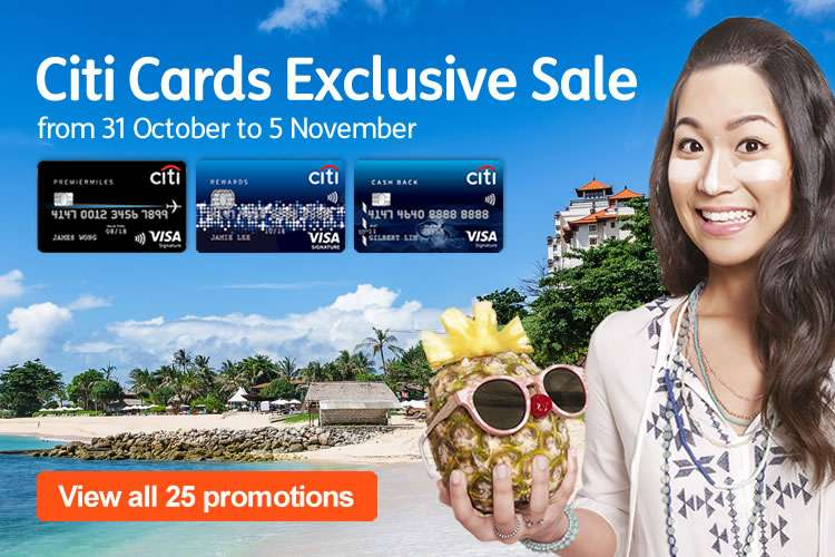 Citi Cards Sale