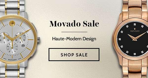 MOVADO SALE — Haute-Modern Design