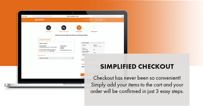SIMPLIFIED CHECKOUT