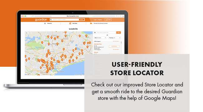 USER-FRIENDLY STORE LOCATOR