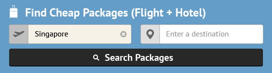 Search For The Best Package Deals!