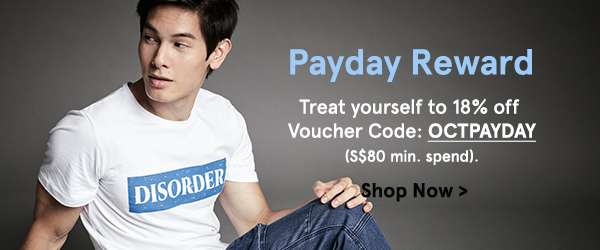 extra 18% off. use code OCTPAYDAY. min spend 80.