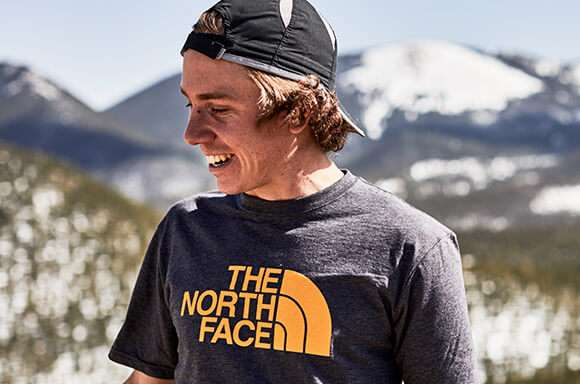 2 for £35 on The North Face T-shirts