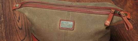 British Belt Co. Langdale Wash Bag
