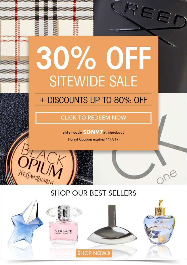 The early shopper gets the sale (and 30% off)!
