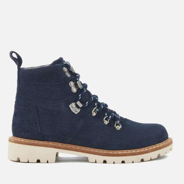 Summit Waterproof Suede Hiker Boots