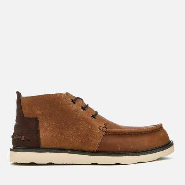Waterproof Leather Chukka Boots