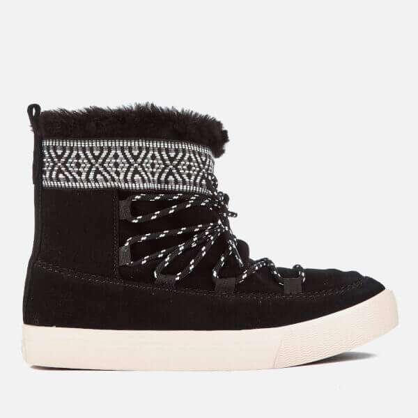 Alpine Waterproof Suede Sheepskin Boots