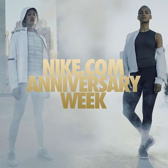 NIKE.COM ANNIVERSARY WEEK