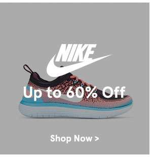 Nike up to 60% off