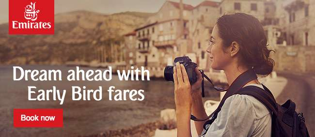 Dream ahead with Early Bird fares