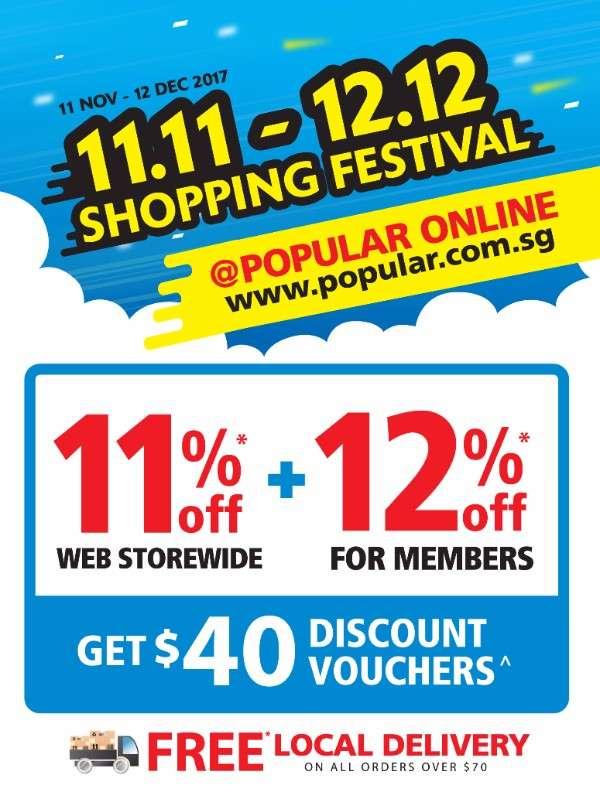 1111-1212 Shopping Festival
