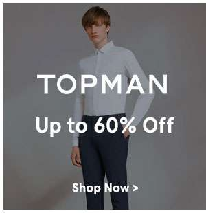 Topman up to 60% off
