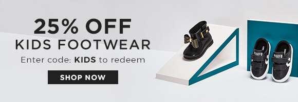 25% off kids footwear