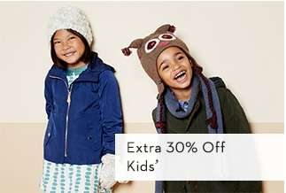 Extra 30% Off Kids'