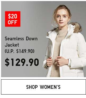 Shop Women's Double 11 specials. Seamless Down Jacket.