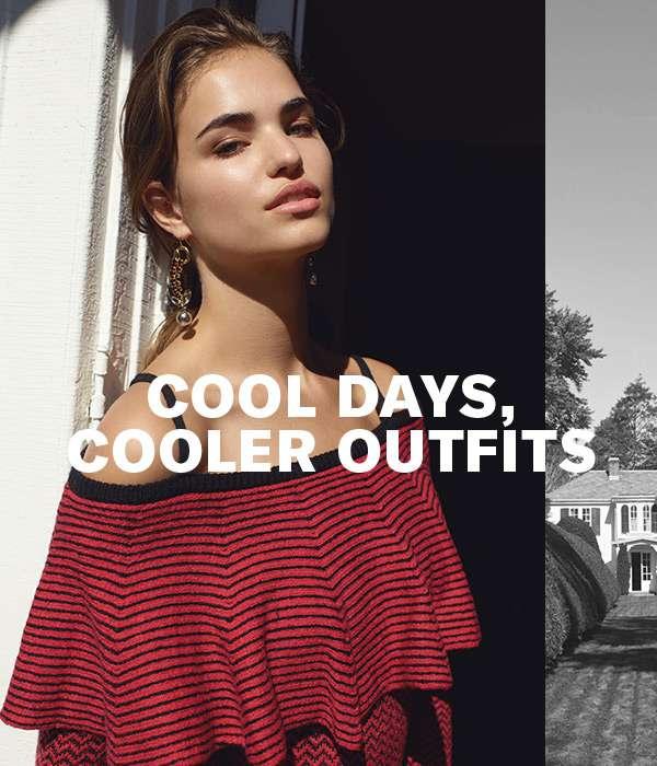 4 fresh looks from BB Dakota ( bring on the chill).