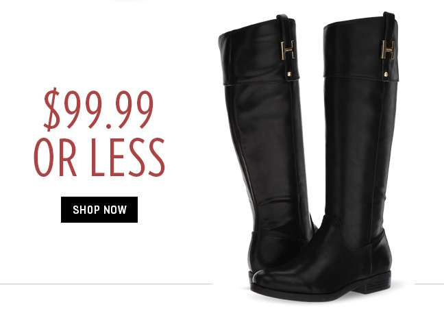 Shop 99.99 or Less Boots