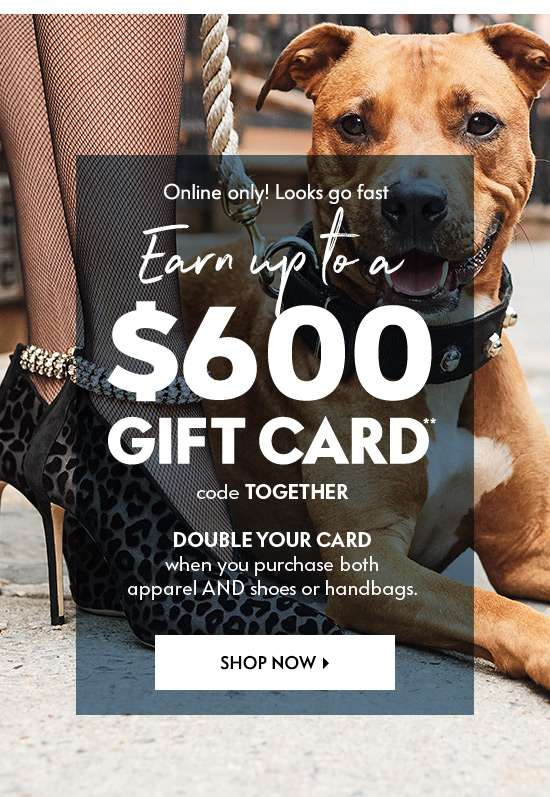 Double Your Gift Card