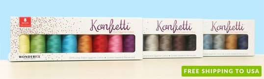 Konfetti Thread Collections by WonderFil