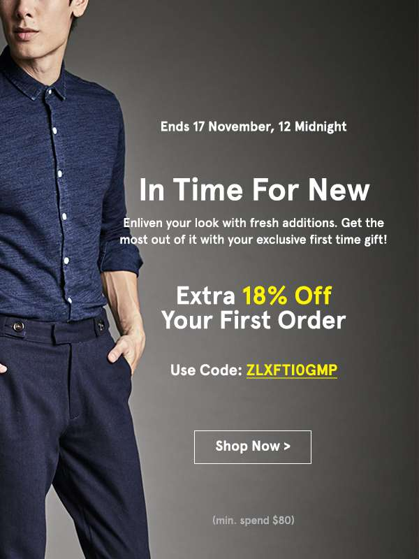 Get the most out of it with your exclusive first time gift  Your first order  Use code: ZLXFTI0GMP  (min. spend $80). Shop Now
