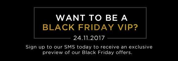 Want to be a Black Friday VIP?