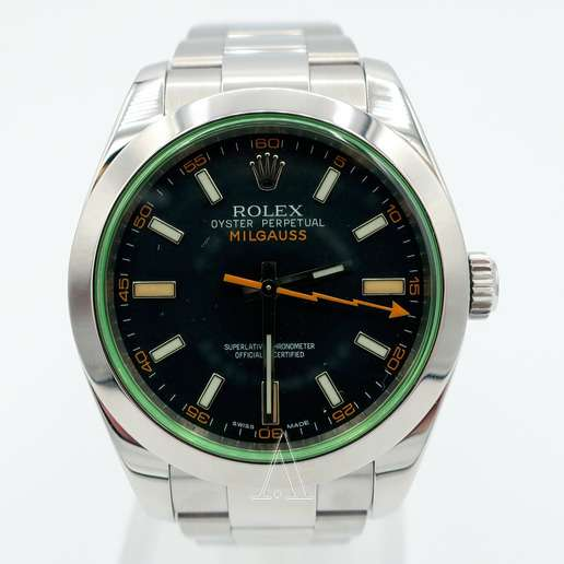 Men's  Rolex Milgauss Watch