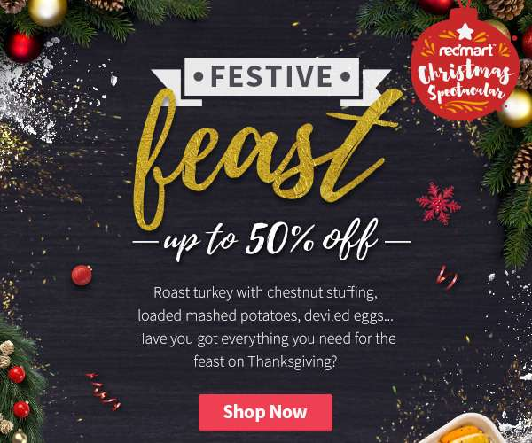 Up to 50% OFF everything you need for the feast on Thanksgiving!