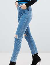 ASOS High Waisted Mom Jeans